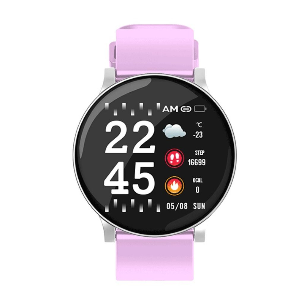 coupon, banggood, Bakeey W8 Heart Rate Blood Pressure Oxygen Smart Watch