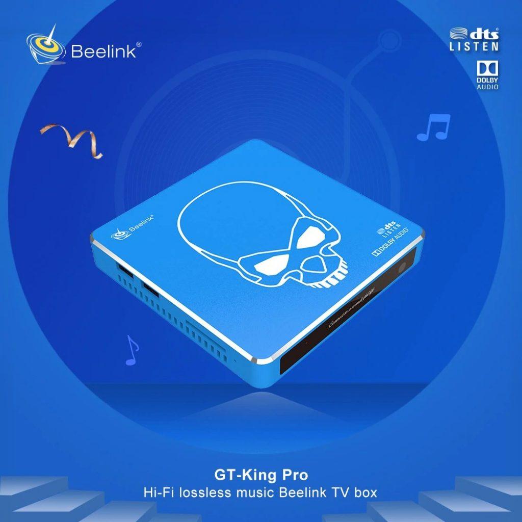 kupón, prevodovka, TV prijímač BeNink GT-King Pro Hi-Fi bezstratový zvuk 4K