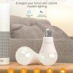 bon, banggood, ampoule intelligente à DEL BW-LT21 RGBWW 10W BlitzWolf® E27 APP