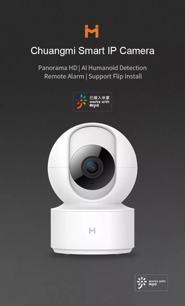 coupon, banggood,Chuangmi Xiaobai H.265 1080P Smart Home IP Camera