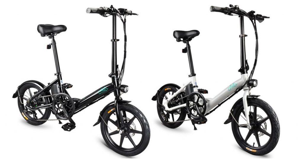 トムトップ、クーポン、ギアベスト、FIIDO D3Sシフティングバージョン折りたたみモペット自転車電動自転車