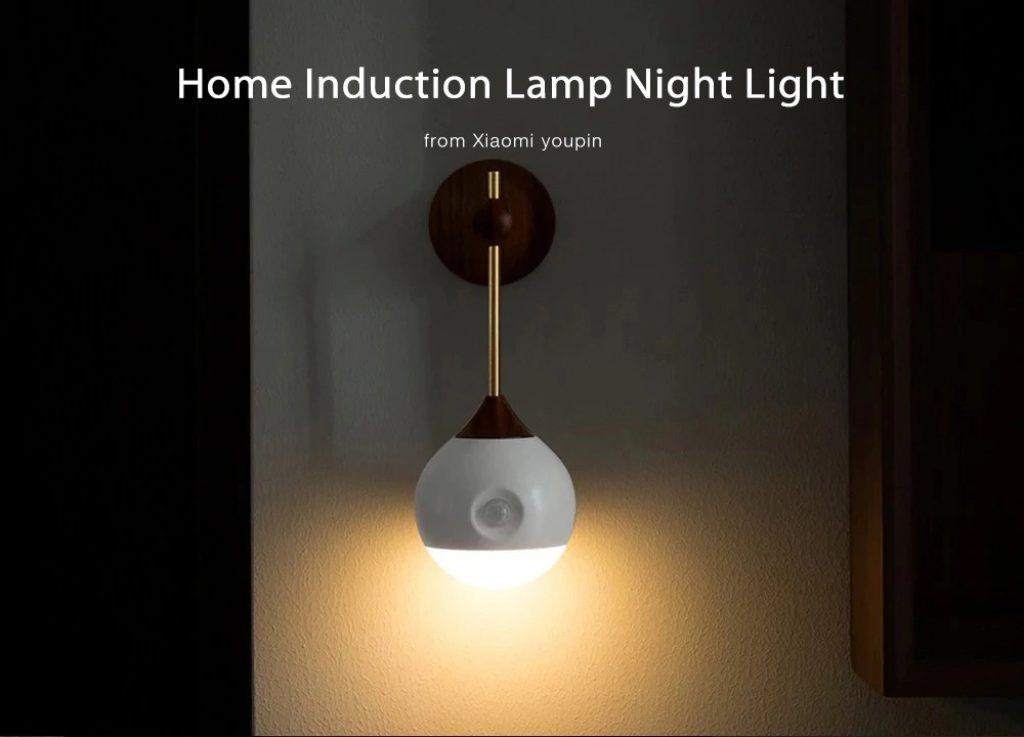 κουπόνι, gearbest, επαγωγικό φως νυχτερινό φως από Xiaomi youpin