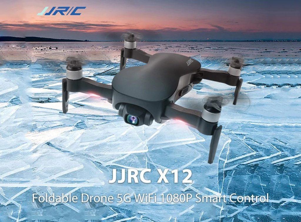 phiếu giảm giá, gearbest, Máy bay không người lái có thể gập lại JJRC X12