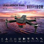 купон, gearbest, LEAD HONOR X46G GPS 5G WiFi FPV с двумя камерами 4K Бесщеточный RC Drone