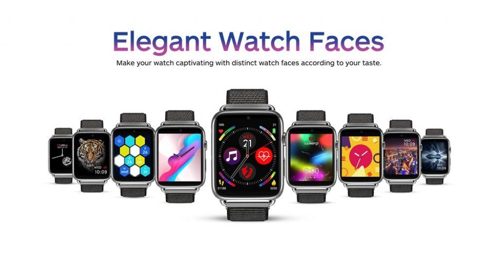 κουπόνι, banggood, LEMFO LEM10 3GB + 32GB 1.82 'Μεγάλη οθόνη 4G Τηλέφωνο ρολόι GPS + GLONASS 2MP Μπροστινή κάμερα 700 Mah Smart Watch