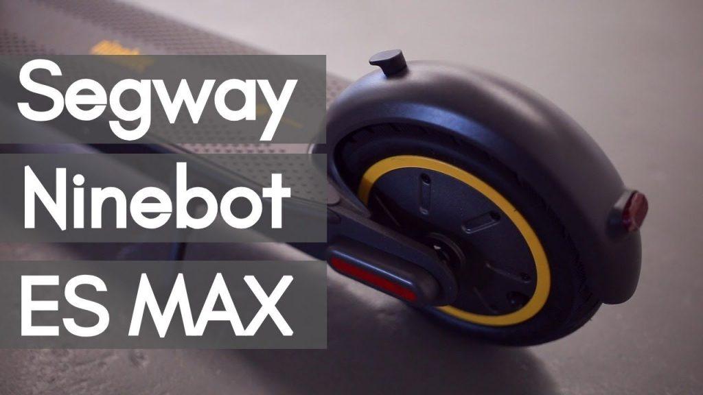 coupon, banggood, Ninebot MAX G30 15.3Ah 36V 350W Electric Scooter