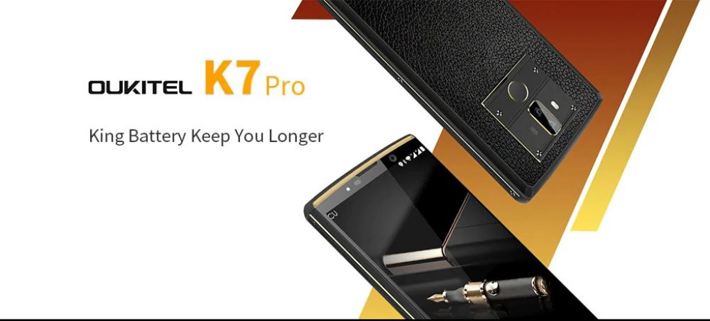 coupon, gearbest, OUKITEL K7 Pro 4G Phablet Smartphone