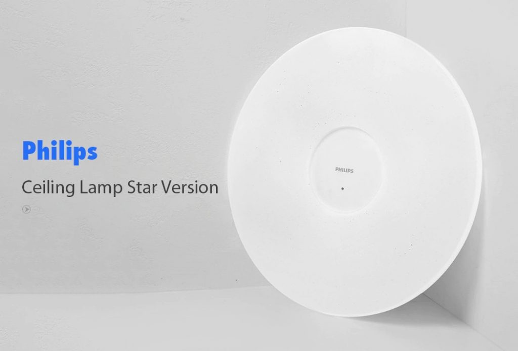 coupon, gearbest, Philips 33W Smart Ceiling Lamp Star Version