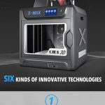 Phiếu giảm giá, gearbest, Máy in X-max 3D công nghiệp thông minh lớn QIDI TECH