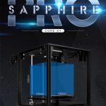 kupón, převodovka, DVA TYPY 3D tiskárna CoreXY BMG Extrudér 235x235m Sapphire S Pro DIY sady 3.5 palcový dotykový displej