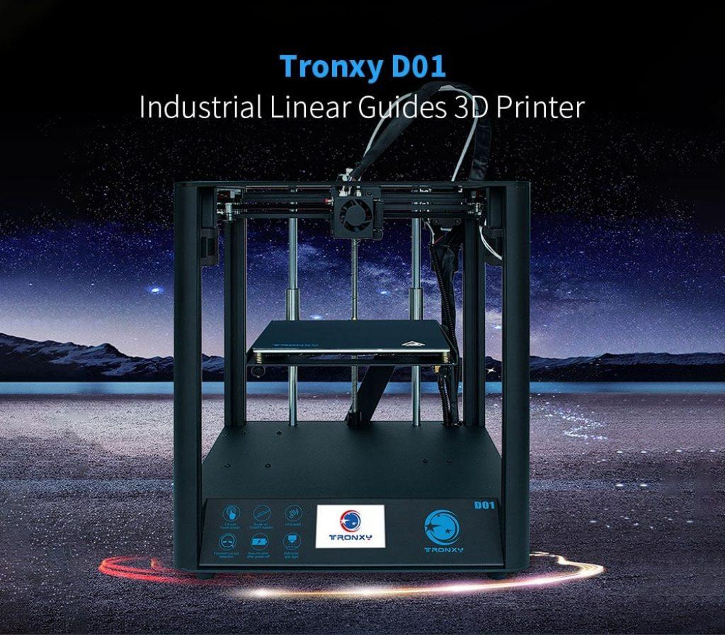 κουπόνι, gearbest, βιομηχανικοί γραμμικοί οδηγοί Tronxy D01 3D
