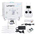 कूपन, धमाकेदार, UPair 2 अल्ट्रासोनिक 5.8G 1KM FPV 3D + 4K + 16MP कैमरा विथ 3 एक्सिस जिमिम जीपीएस GPS RC क्वॉडकॉप्टर ड्रोन RTF