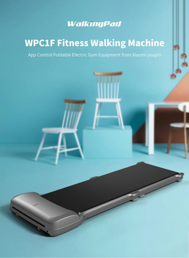 쿠폰, gearbest, WalkingPad C1 Fitness Walking Machine App 제어 Xiaomi youpin의 접이식 전기 체육관 장비