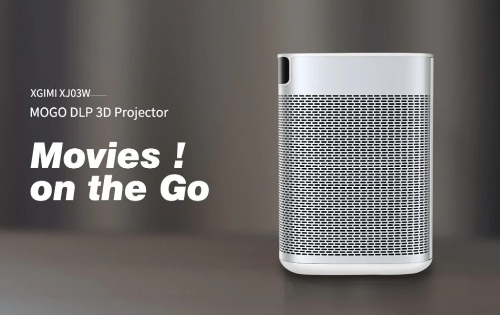 banggood, coupon, gearbest, XGIMI XJ03W MOGO DLP 3D Projector