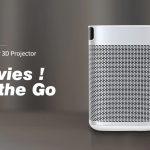 banggood, kupon, gearbest, XGIMI XJ03W MOGO DLP 3D Projector