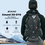 كوبون ، بانججود ، Xmund XD-DY6 40L للماء النايلون حقيبة الظهر الرياضة السفر المشي لمسافات طويلة تسلق للجنسين حقيبة الظهر