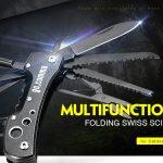 kupón, gearbest, gocomma Multifunkční skládací nůž Mini Mini 12 v 1