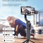 クーポン、Banggood、BlitzWolf®BW-BS14 bluetooth 3-Axis Gimbal Stabilizer with 3 Adjustable Modes for Mobile Phones