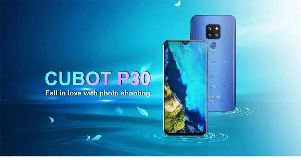 kupón, převodovka, CUBOT P30 4G Phablet Smartphone