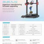 kupon, banggood, pagkamalikhain 3D® CR-10S Pro V2 Firmware Pag-upgrade ng DIY 3D Printer