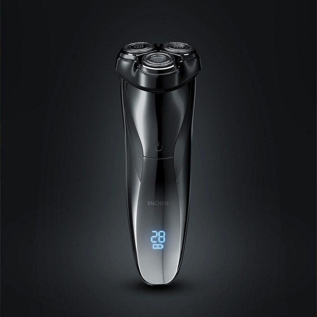 קופון, banggood, Enchen BlackStone3 Pro סכין גילוח חשמלי 3D חותך צף LED תצוגת סוללה הגנת חסימת USB מכונת גילוח טעינה למתנה לגברים מ- Xiaomi Youpin