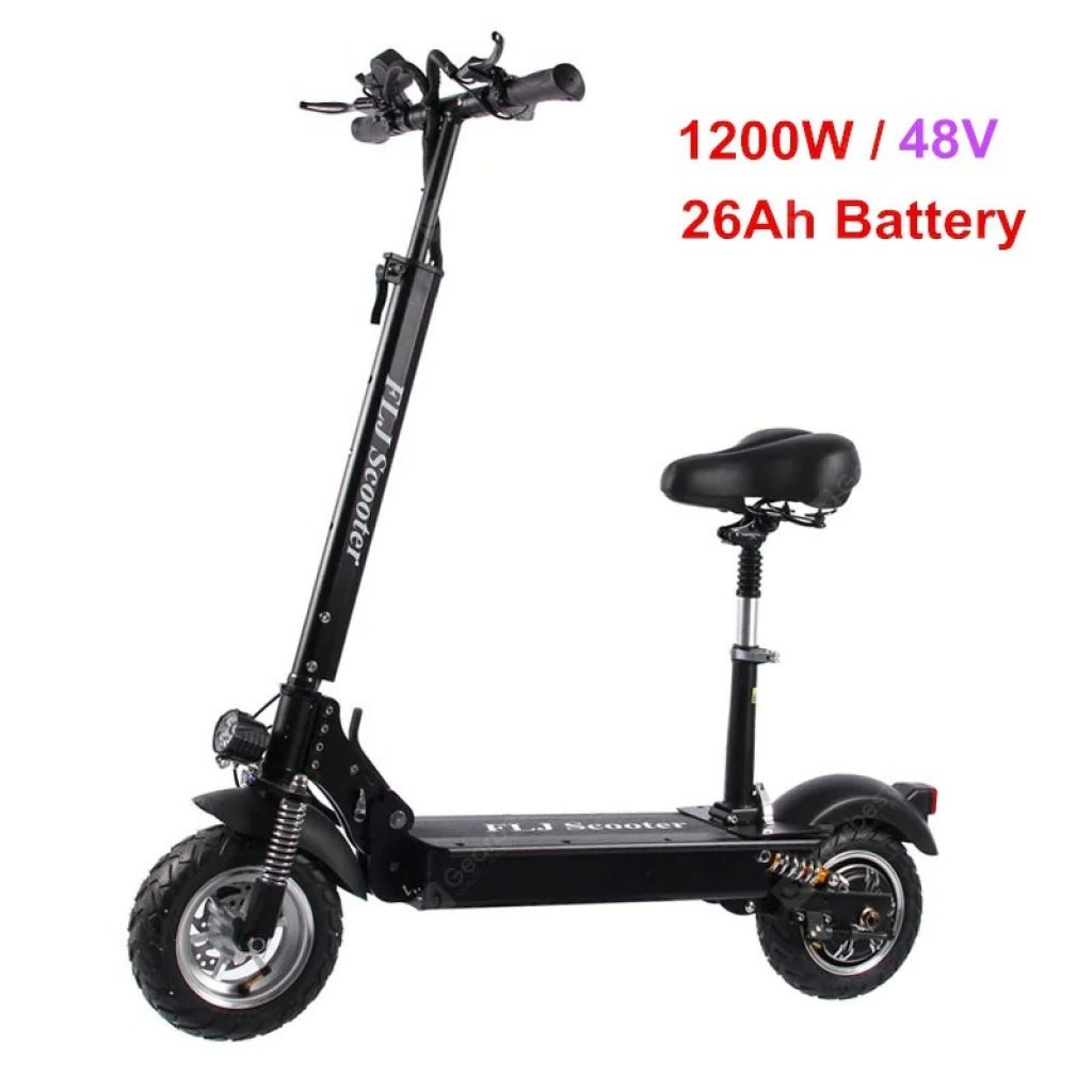 817 With Coupon For Flj C11 1200w 10inch Wheel Electric