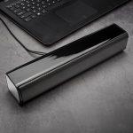 coupon, banggood,HIPER SONG Dual Speaker Bluetooth TF Card Function Black Strip Subwoofer USB2.0 Computer Speaker