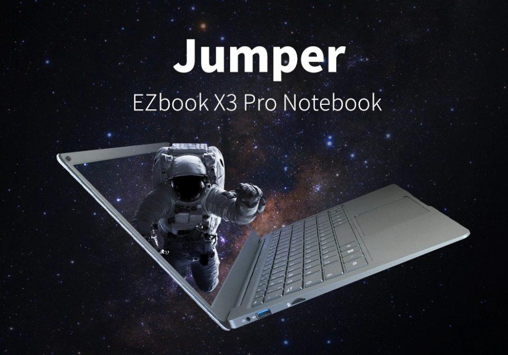 coupon, gearbest, Jumper EZbook X3 Pro Notebook 13.3 inch Windows 10 OS Ultrabook Laptop