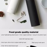 coupon, gearbest, XIAOMI Mijia 480ML Vacuum Thermos Bottle Women Men Long Lasting Insulation Stainless Steel Water Bottles with Tea Strainer