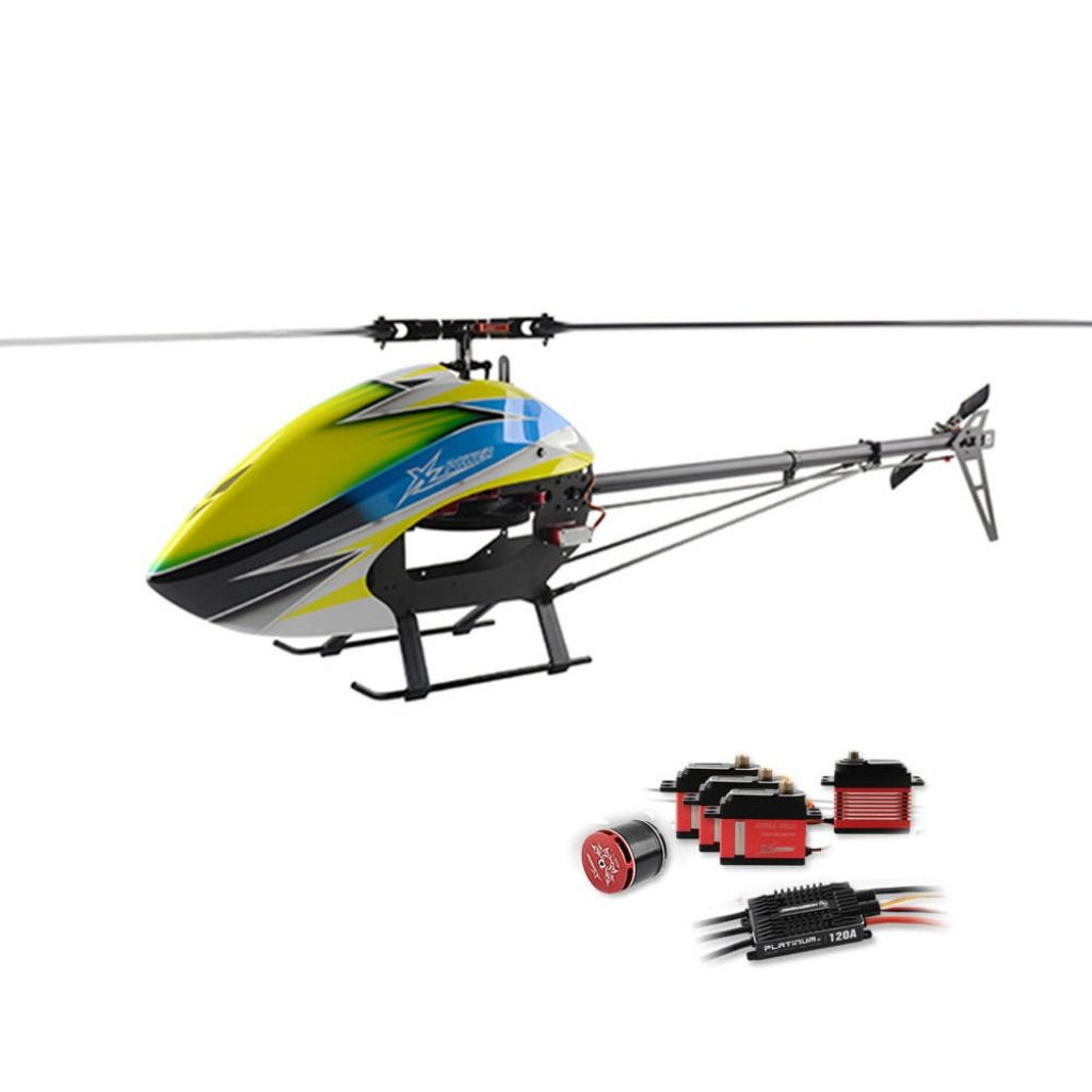 kupón, náramek, XLPower 520 XL520 FBL 6CH 3D Létající RC vrtulník Super Combo s motorem 1100KV 120A V4 ESC KST Digitální serva