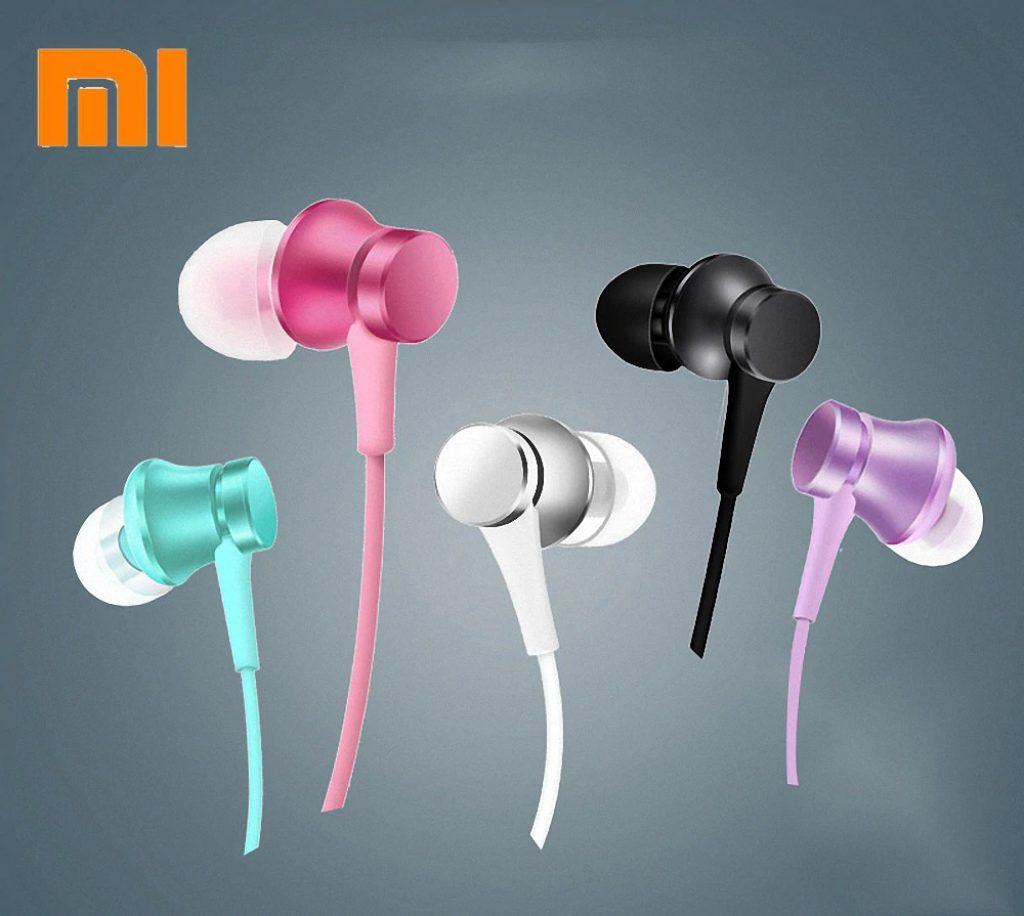 kupon, banggood, Xiaomi Piston Edisi Dasar Headset In-Ear Earphone Dengan Mic