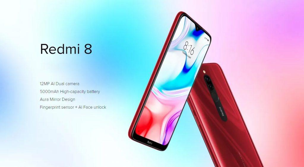 kupon, banggood, Xiaomi Redmi 8 Smartphone