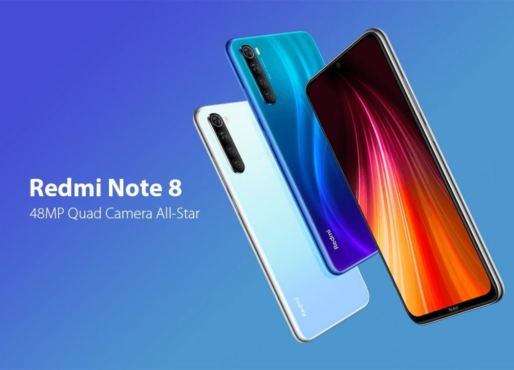 coupon, gearbest, Xiaomi Redmi Note 8 4G Phablet Smartphone