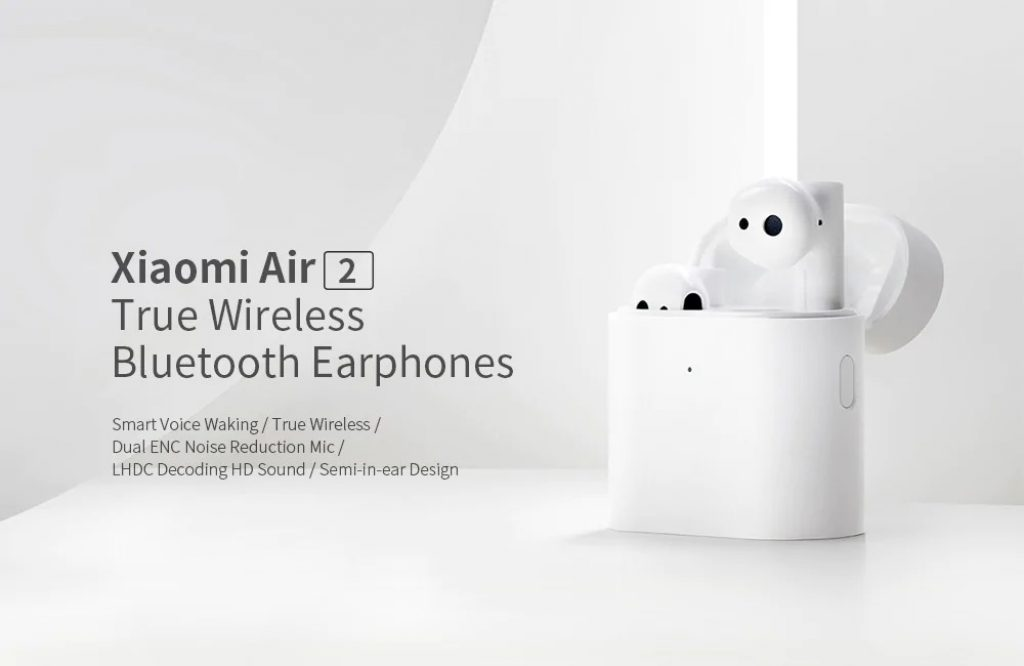 geekbuying, coupon, gearbest, Xiaomi TWSEJ02JY Air 2 Bluetooth 5.0 Binaural Earphones