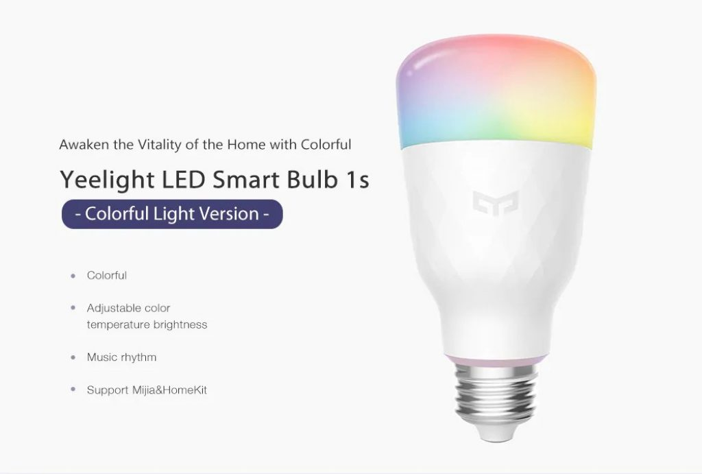 kupon, mjenjač, ​​Yeelight YLDP13YL 1s LED žarulja Smart žarulja