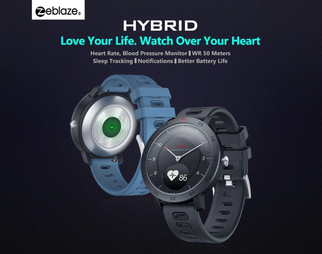 クーポン、ギアベスト、Zeblaze HYBRID Dual Modes Mechanical Smart Watch
