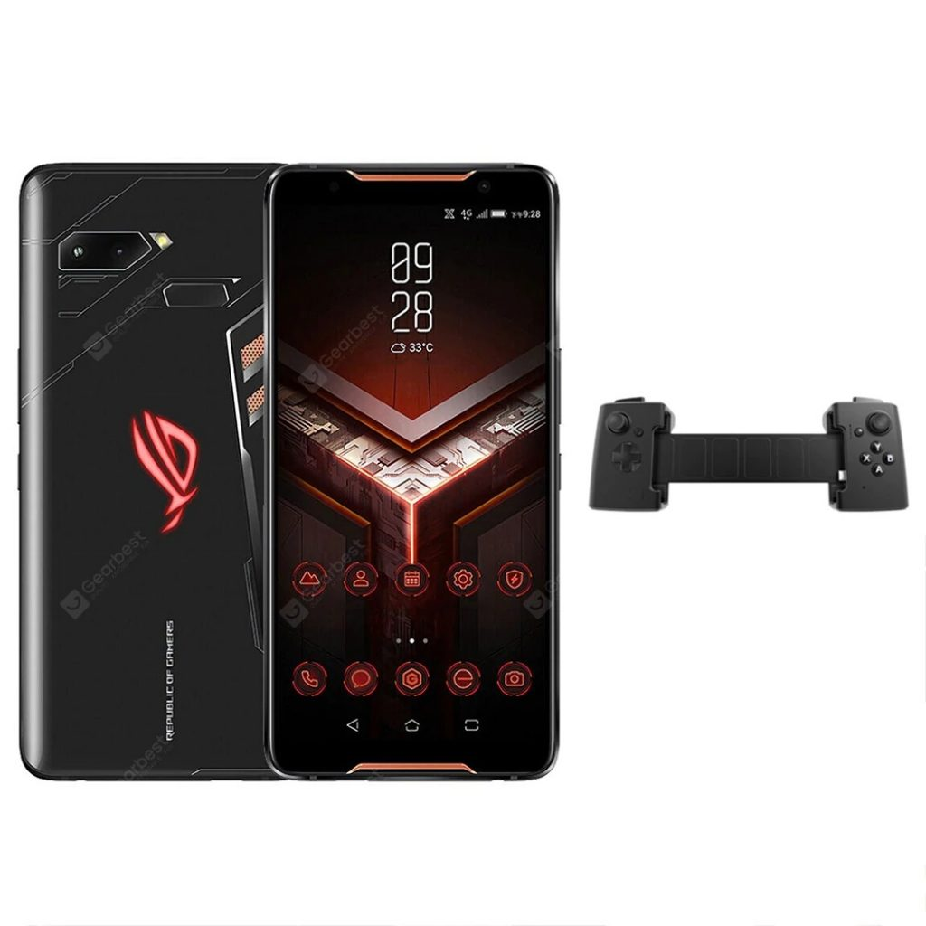 coupon, gearbest, ASUS ROG ZS600KL Gaming Phone pad