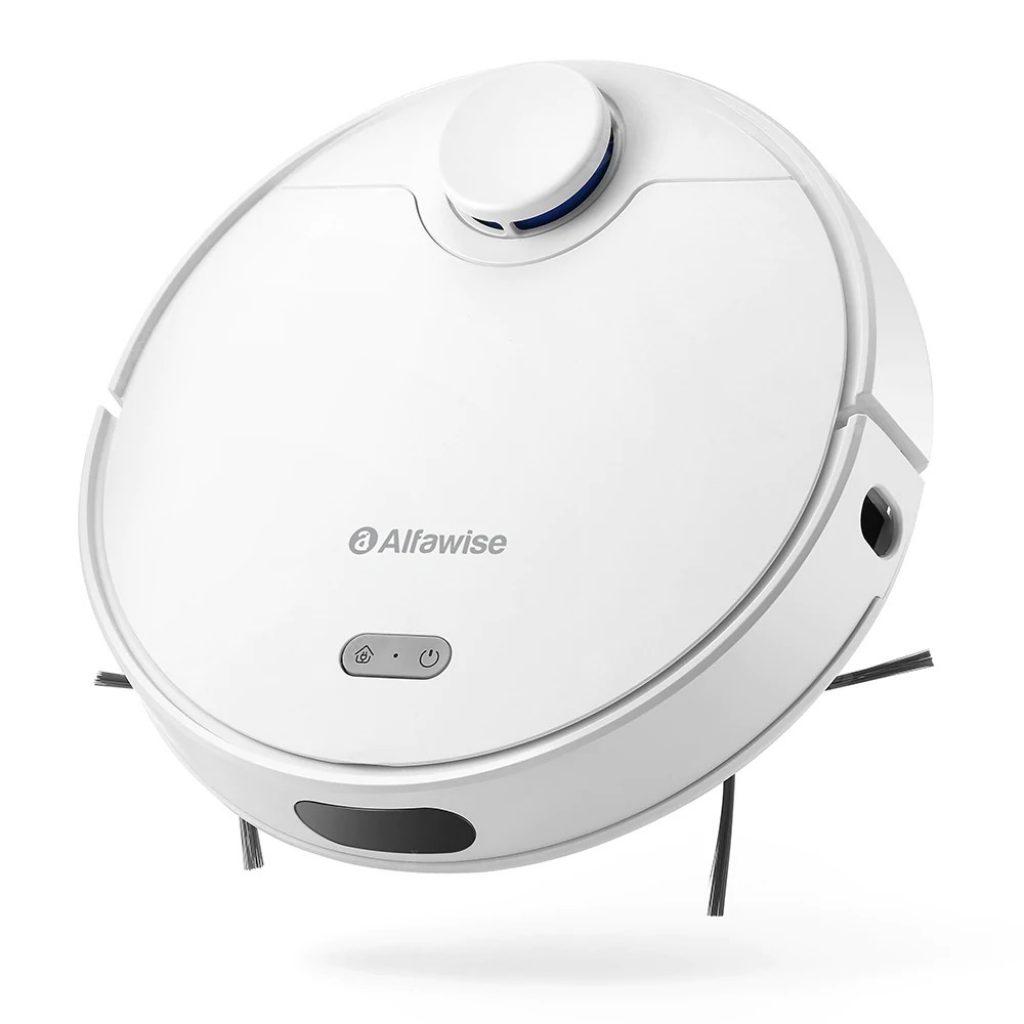 쿠폰, gearbest, Alfawise V10 Max 레이저 내비게이션 로봇 진공 청소기
