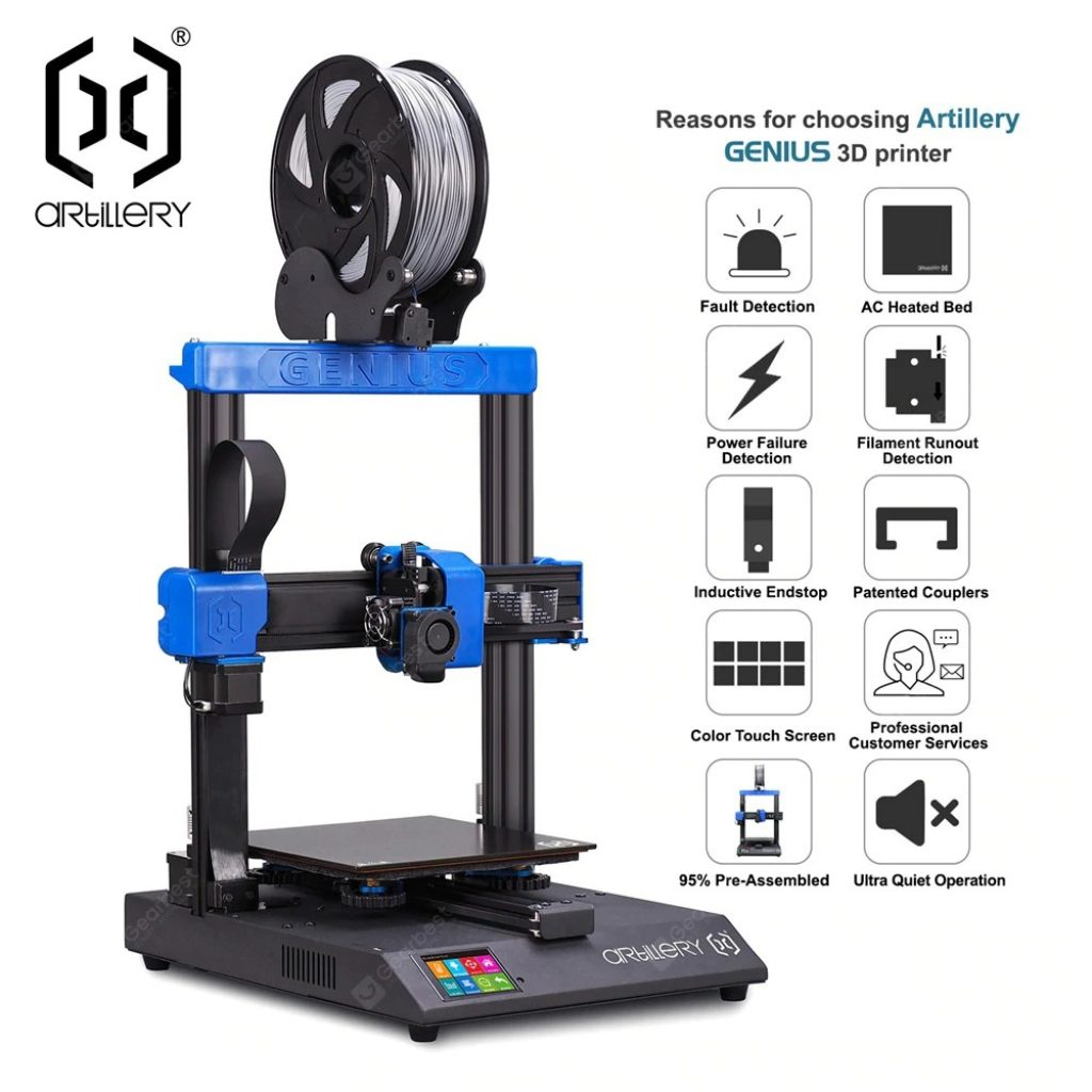 banggood, coupon, gearbest, Artillery GENIUS 3D printer