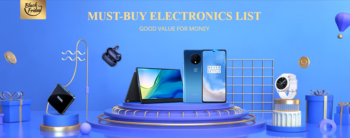 GearBest Black Friday Must-Have electronics list