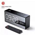 coupon, banggood, Dido X9 Super Bass Mirror Wireless Bluetooth Speaker Remote Control TF Radio Speaker 3D Digital Sound Loudspeaker Alarm Clock