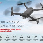 banggood, קופון, gearbest, FIMI X8 SE FPV 4K מצלמה RC Drone 3-Axis Gimbal WiFi Quadcopter