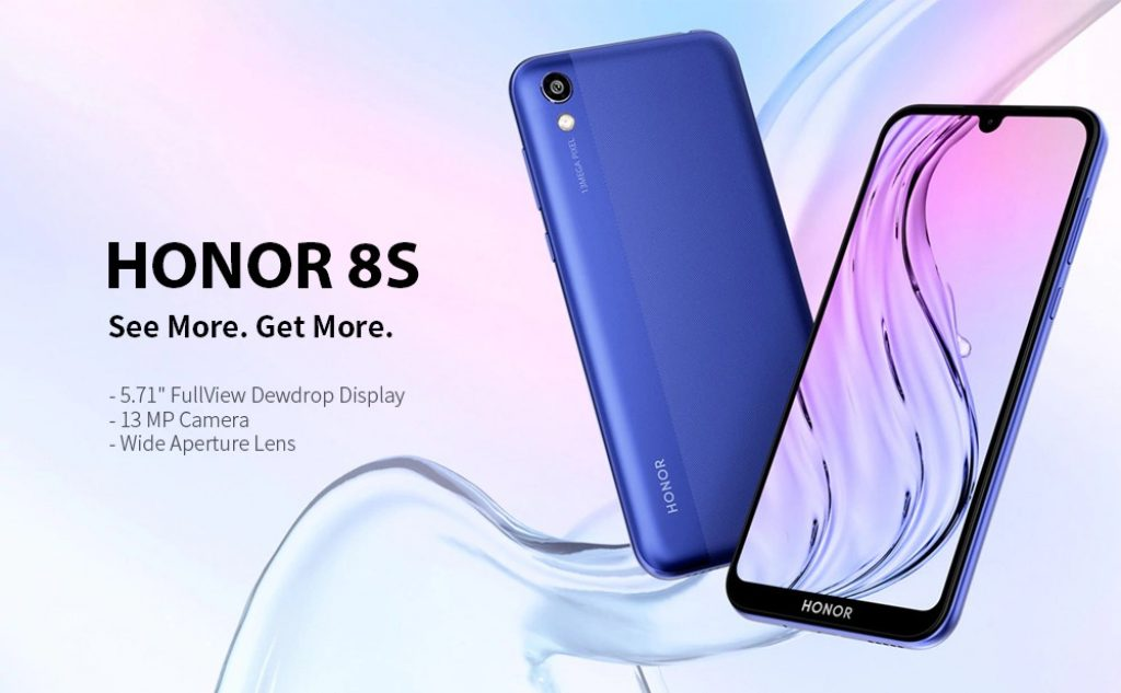 Phiếu giảm giá, gearbest, HUAWEI Honor 8S 4G Phablet Smartphone