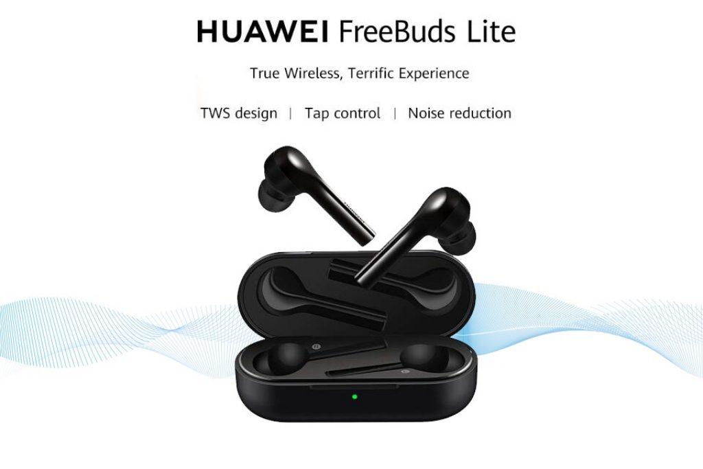 coupon, banggood, Huawei FreeBuds Lite TWS Wireless bluetooth Earphone HiFi Stereo Smart Touch 4 MEMS Mic IP54 Waterproof Headphone with Charging Box