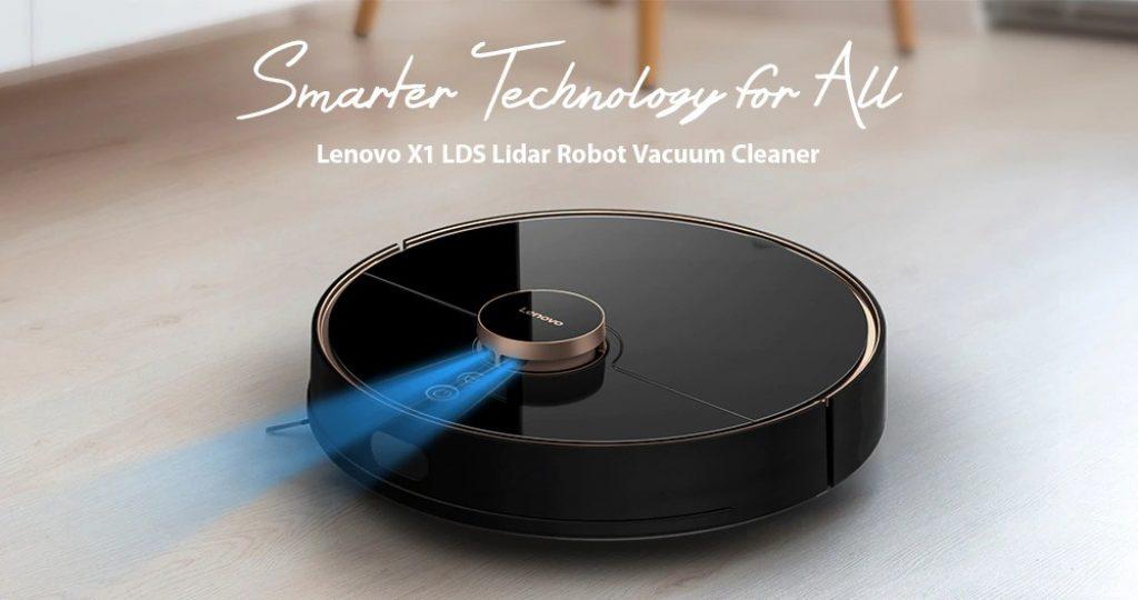 קופון, gearbest, Lenovo X1 LDS לידר ניווט לייזר שואב אבק רובוט רטוב ויבש