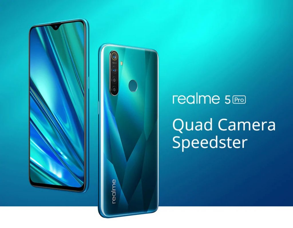 coupon, gearbest, OPPO Realme 5 Pro 4G Phablet Smartphone