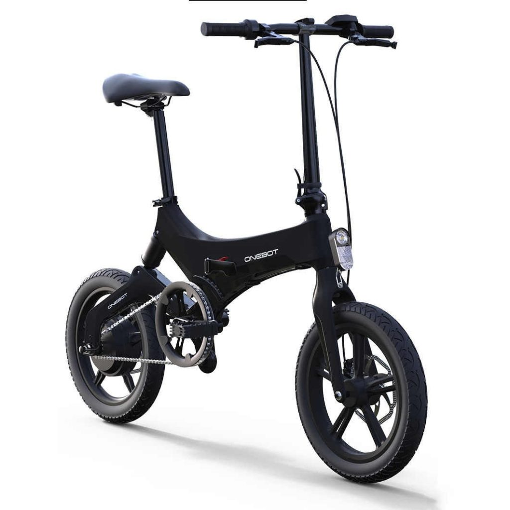 coupon, tomtop, Onebot S6 16 Inch Folding Electric Bicycle