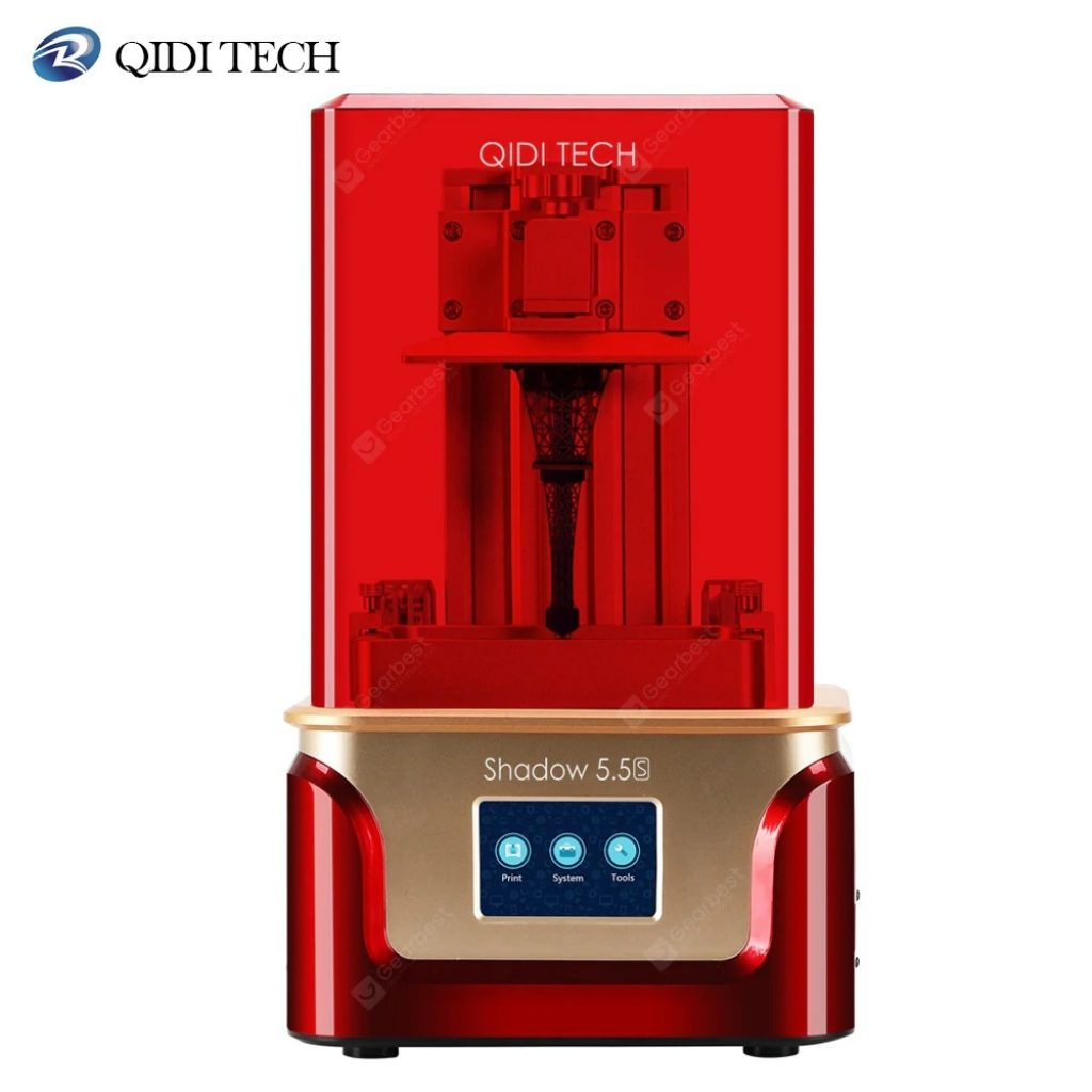 coupon, gearbest, QIDI TECH LCD 3D Printer