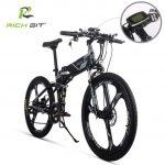 coupon, banggood,RICH BIT TOP-860 12.8AH 36V 250W 26inch Folding Moped Electric Bike