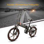 tomtop, kupon, banggood, SAMEBIKE 20LVXD30 10.4AH 48V 350W Electric Moped Bike